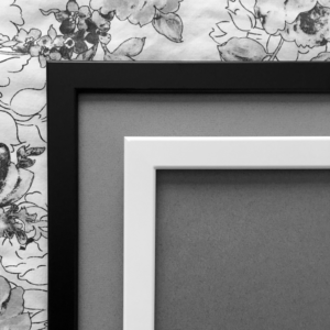 Black Or White Frame Choice for Prints